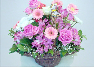 Flower basket - Rozali