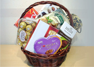 Gourme basket - Sweet surprise